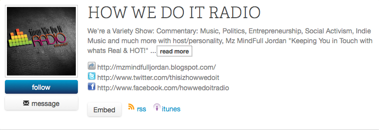 How We Do It Radio Home