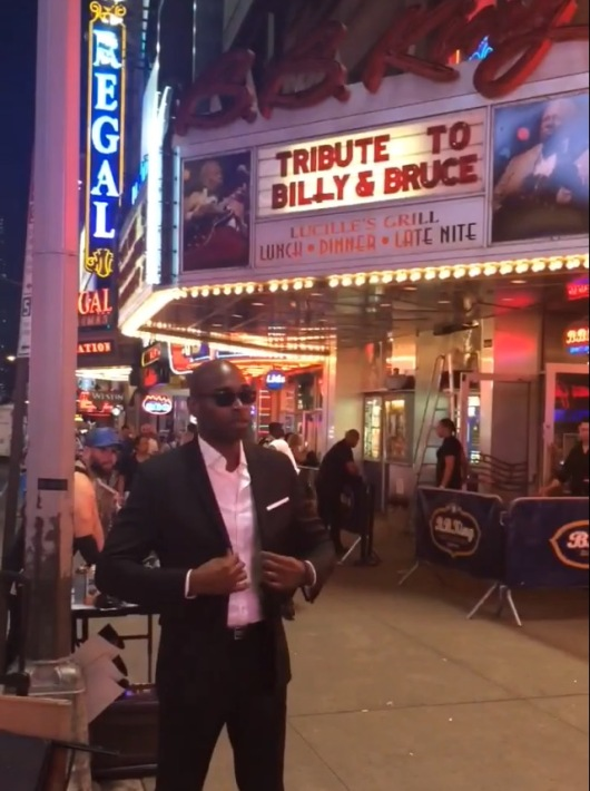 George Robert at BB King's in Times Square